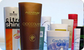 Plastic tubes for cosmetics